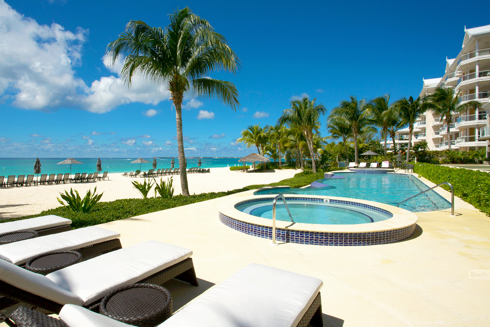 Beachfront Pool Area