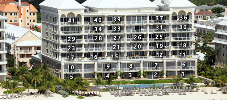 Beachcomber Condo Locations