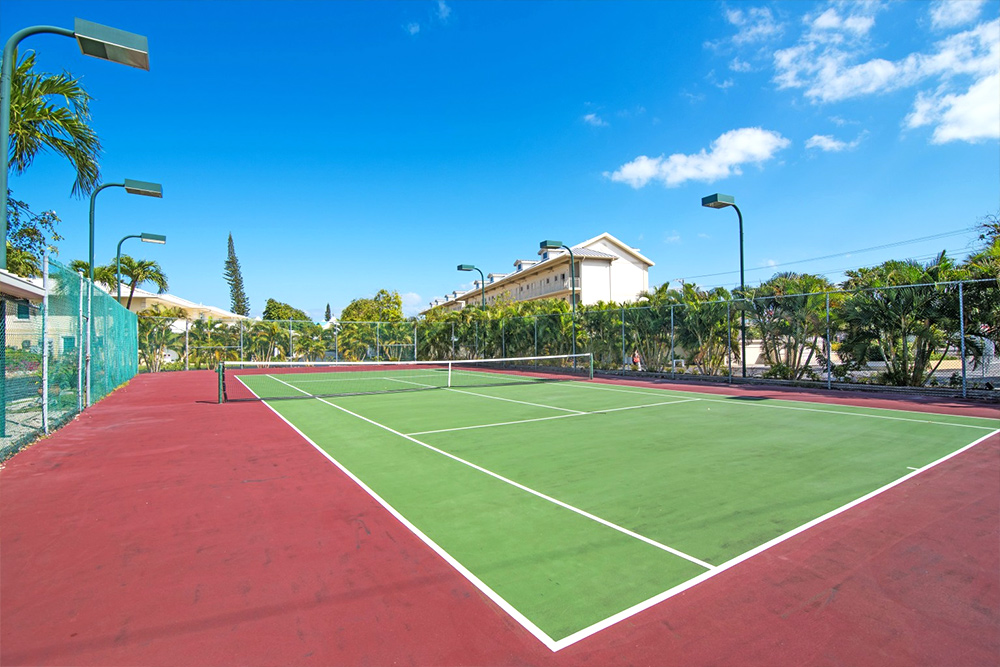 Enjoy a game of Tennis