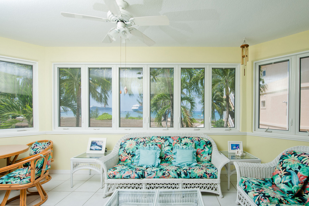 Spacious Sunroom