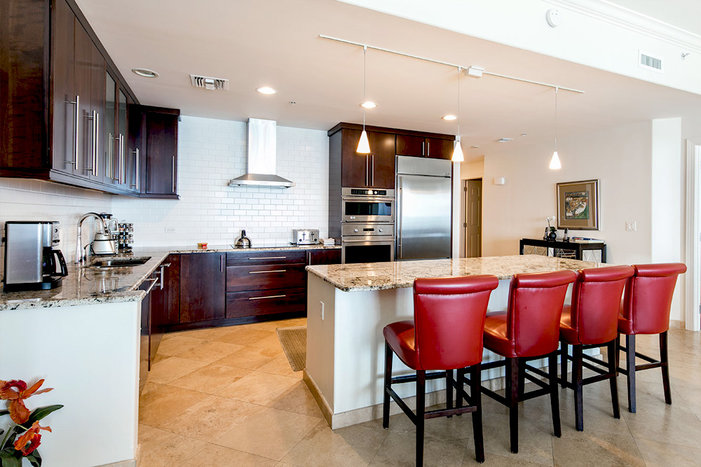 Gourmet Kitchen - 4 Bedroom Unit