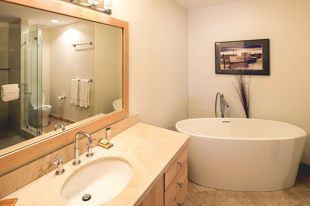 Soaker Tub - Master Bath